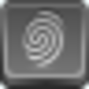 Free Grey Button Icons Finger Print Image