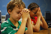 Clipart Children Praying Church Image