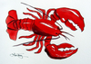 Red Lobster Clipart Image