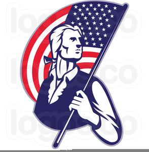 Patriotic Eagle Clipart Image