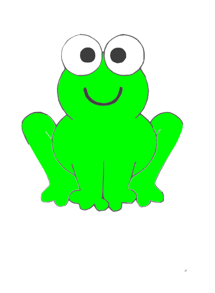 green frog clipart - photo #21