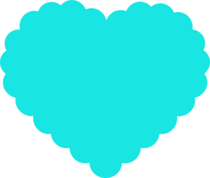 Teal Heart Clip Art Teal Heart Clip Art at...