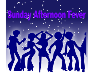 Sunday Afternoon Fever Clip Art