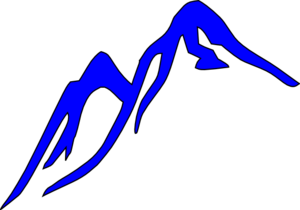 Blue Mountain Clip Art