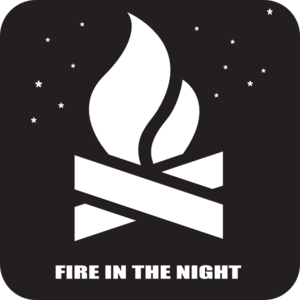 Fire In The Night 2 Clip Art