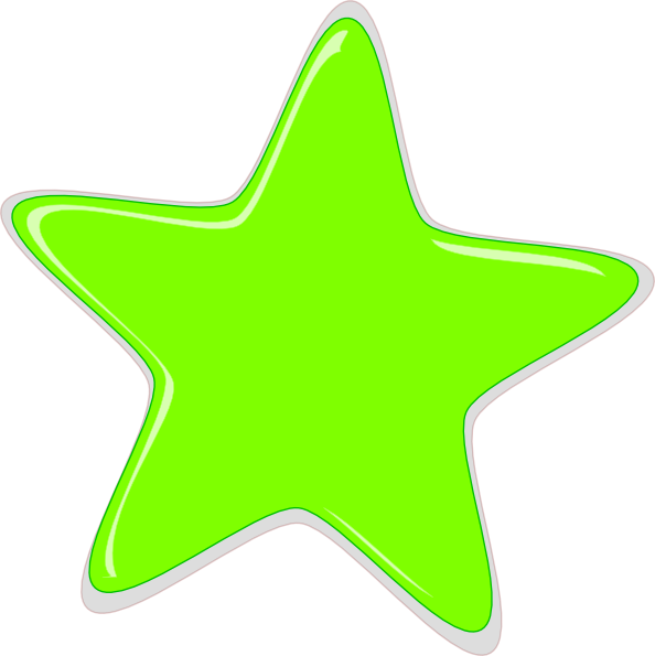 Gallery For > Lime Green Star Clipart