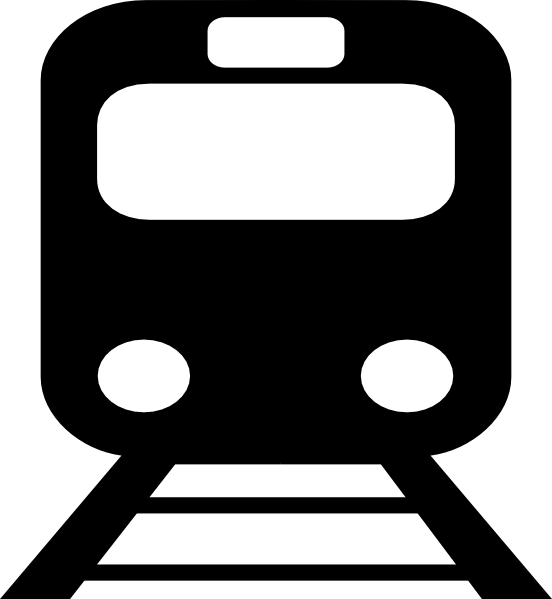 metro train black 2 clip art at clker com vector clip art online rh clker com train station clipart black and white train station pictures clip art