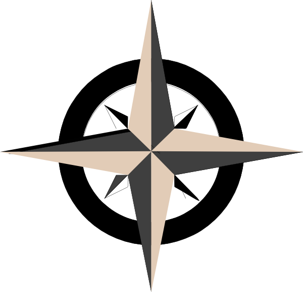 tan compass rose clip art at clker com vector clip art online rh clker com compass rose clip art black and white simple compass rose clip art