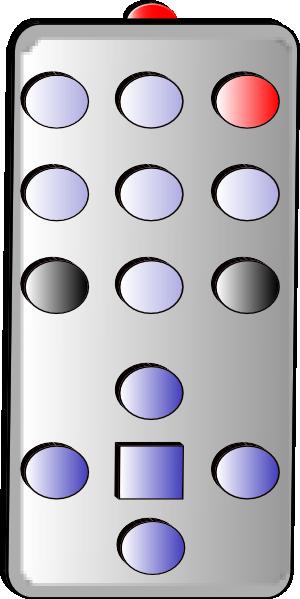Remote Control clip art