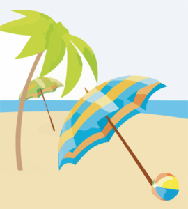 Summer Beach Wallpapers X Copy Clip Art