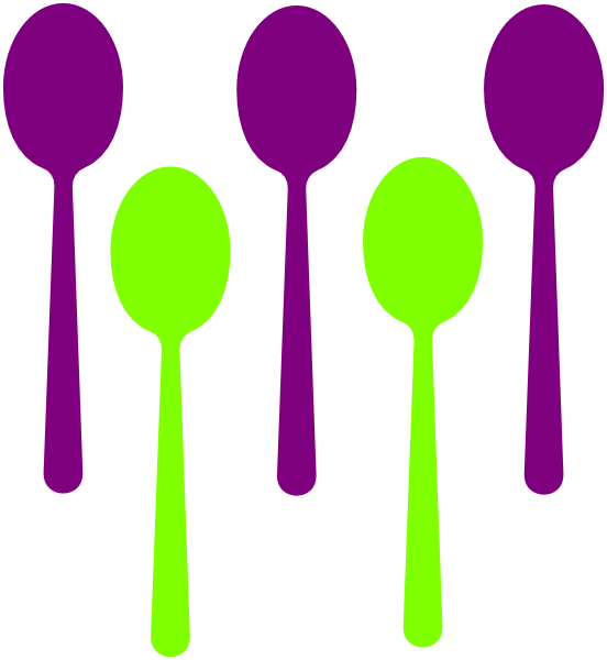 Spoons Clip Art at Clker.com - vector clip art online, royalty free ...