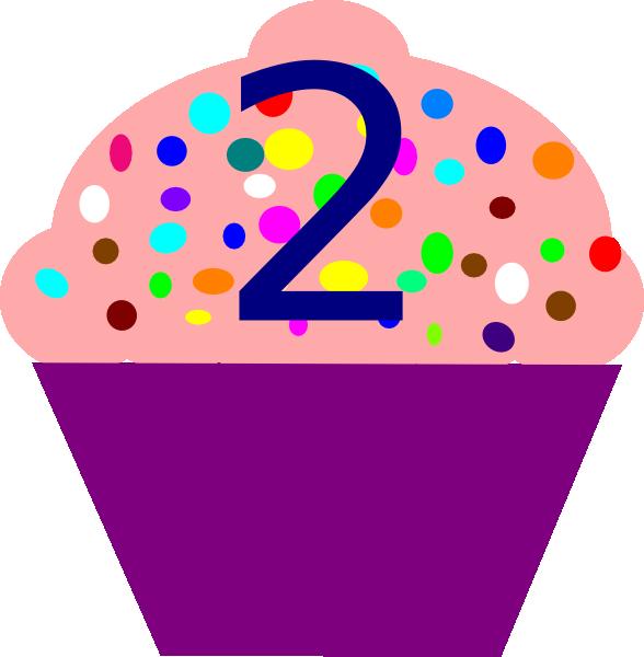 Cupcake 2 Clip Art At Clker Com Vector Clip Art Online