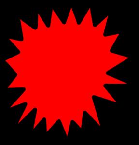 Red Comic Callout Clip Art At Clker Com Vector Clip Art