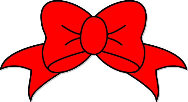 red bow clip art at clker com vector clip art online royalty free rh clker com red bow clip art images red bow tie clipart