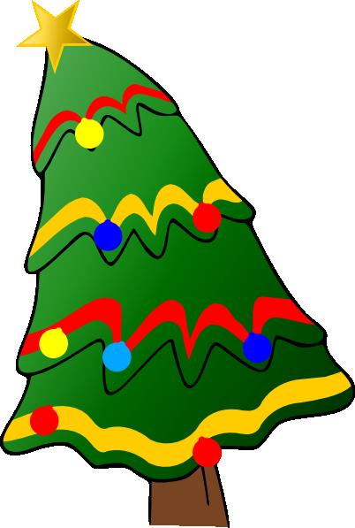 Christmas Tree Clip Art at Clker.com - vector clip art ...