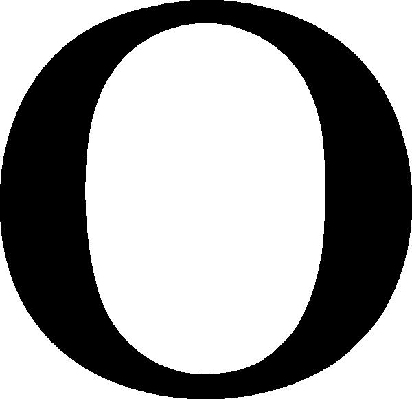 Cyrillic Letter O Clip Art at Clker.com - vector clip art online ...