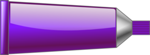 Color Tube Purple Clip Art