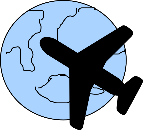 small airplane clipart free - photo #37