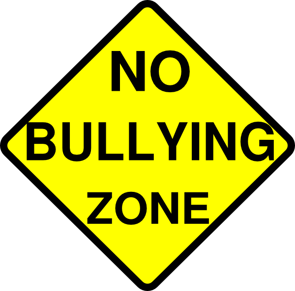 no bullying zone clip art at clker com vector clip art online rh clker com Bullying Signs Pictures About Bullying School