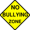 No Bullying Zone Clip Art