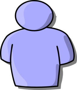 Purple Person Clip Art