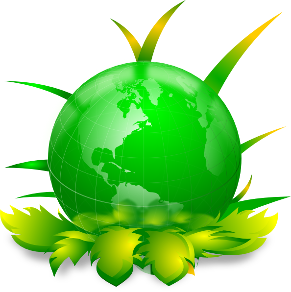 Green earth clip art at vector clip art online royalty free public domain - Mother earth clipart ...