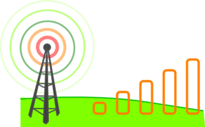 Wireless Connection Level Clip Art