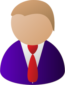 Person Icon Purple Clip Art