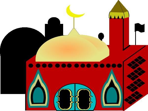 Masjid Clip Art at Clker.com - vector clip art online, royalty free ...