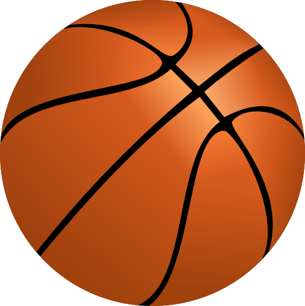 Basketball clip art at clkercom vector clip art online royalty free public domain for Free basketball vector