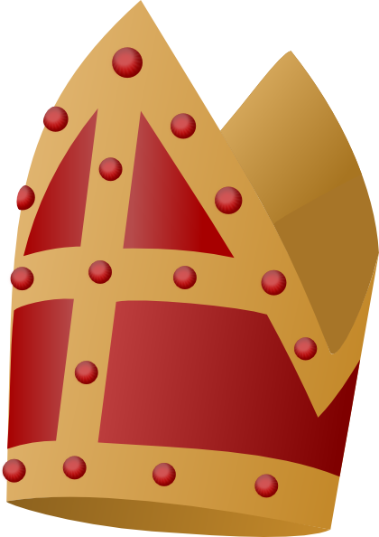 Pope Hat Drawing Pope Hat Clipart