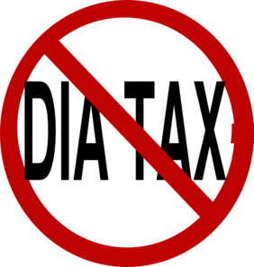 No Dia Tax Clip Art