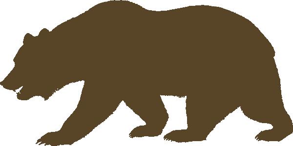 bear clip art at clker com vector clip art online Bulldog Paw Print Clip Art Orange Paw Print Clip Art