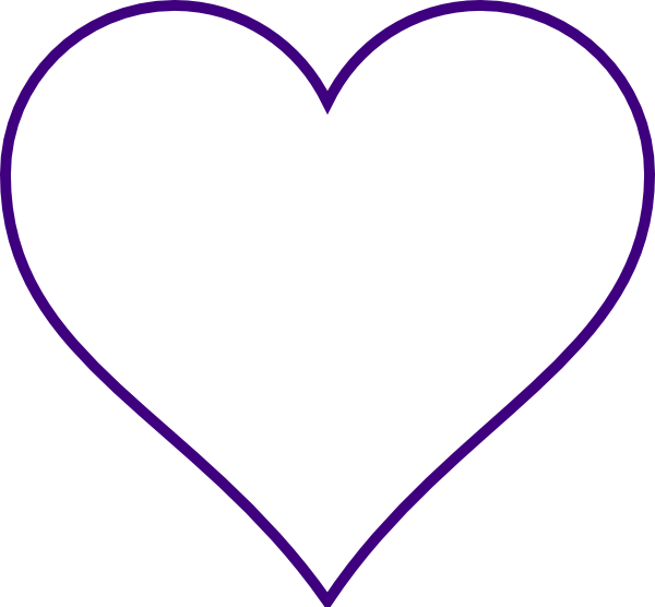 free clipart heart template - photo #3