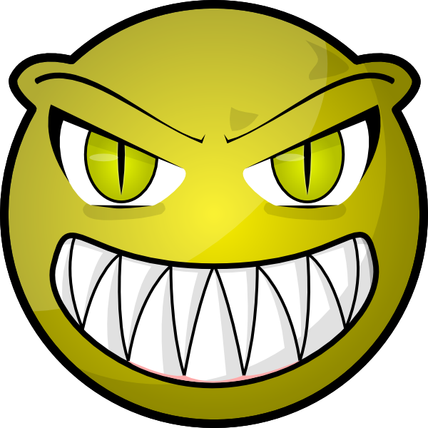 Scary Face Clipart Face Clipart