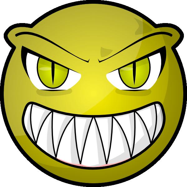 face clip art at clker com vector clip art online royalty free rh clker com scary cartoon clown faces scary halloween cartoon faces