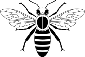 Honey Bee Pictogram Clip Art