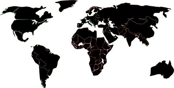 Map black world clip art at clker vector clip art online download this image as gumiabroncs Gallery