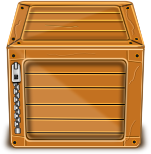 Wood Box Clip Art