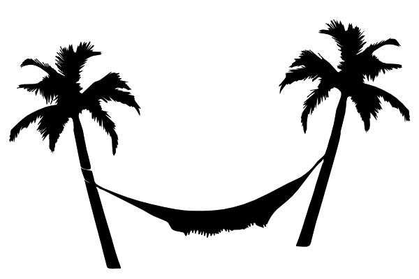 free clipart hammock cartoon - photo #13