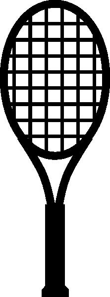 Tennis Racket Clip Art At Clker Com Vector Clip Art Online