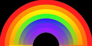 rainbow clip art - Rainbow Picture