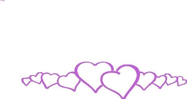 Linked Hearts Clip Art