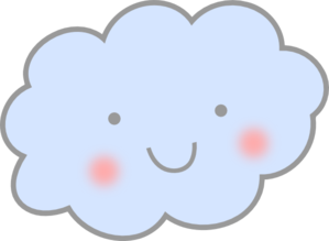 Cute Cloud Clip Art At Clkercom Vector Clip Art Online Royalty