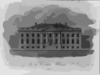Front View Of The President S House Clip Art