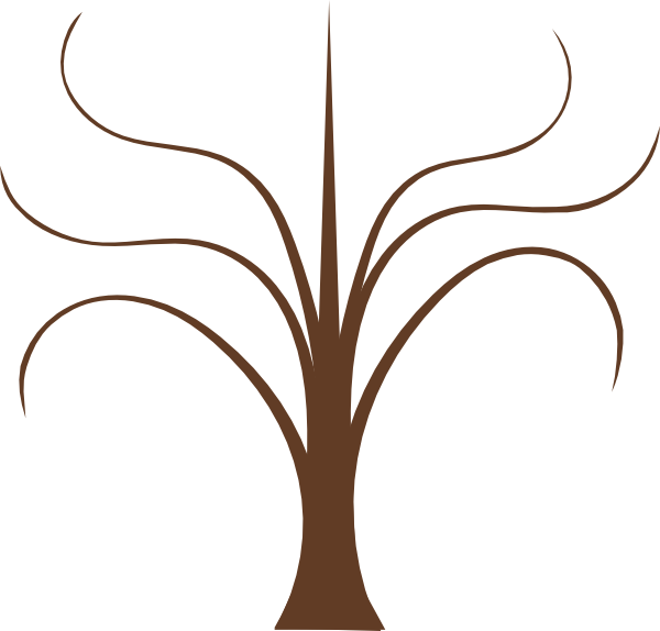 Tree Branches Clip Art at Clker.com - vector clip art online, royalty ...