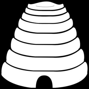 Plain Beehive Clip Art
