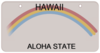 Hawaii License Plate Clip Art