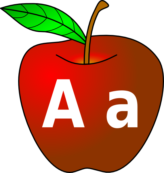 apple with a a clip art at clker com vector clip art clipart apple tree free clipart apple tree