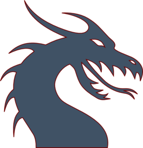 Blue Dragon Clip Art